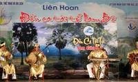 "1st national ""Don ca tai tu"" festival concludes"