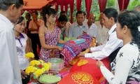 Wedding ceremony of the Khmer