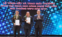 Vietnam Scientific and Technological Innovation Awards 2015 granted