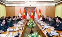 Vietnam, Indonesia enhance defense cooperation