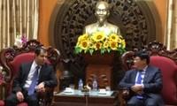 VOV President receives Azerbaijan Ambassador to Vietnam