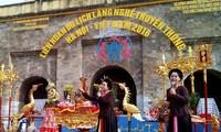 Procession of craft villages' ancestors