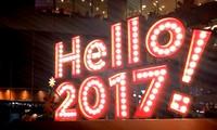 Vietnamese welcome New Year 2017