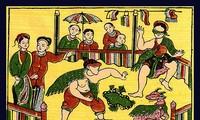 'Bịt mắt bắt dê', a folk game full of laughter