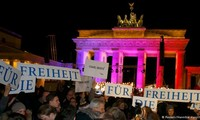 Politicians, religious representatives join anti-terrorism rally in Germany