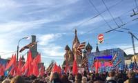 Russia marks Crimea annexation anniversary