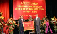 Developing Vietnam's culture characterized by national identities