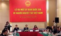 National committee for the disabled debuts in Hanoi