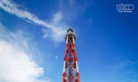 Lighthouse keepers on Truong Sa archipelago