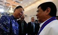 菲律宾总统:将基于仲裁庭的裁决与中方进行谈判