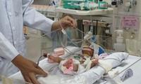 Successful congenital heart operation for premature baby