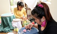 Van Lam embroidery and lace village