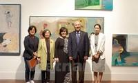 Art exhibition celebrates Vietnam-RoK diplomatic ties
