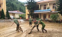 Joint efforts to help flood victims in northern mountain provinces