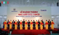 Thaco bus manufacturing plant inaugurated