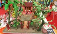 Rice powder figurine making in Xuan La village