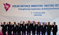 ASEAN defense officials boost cooperation for regional peace, stability