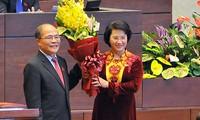 全国选民对越南首位女国会主席寄予厚望