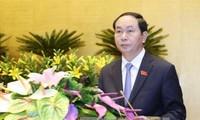 越南国会免去国家副主席、最高人民法院院长和最高人民检察院检察长职务