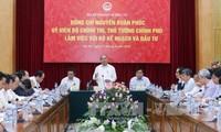 越南政府总理阮春福与计划投资部举行工作座谈会
