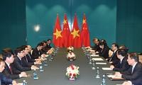 阮春福会见中国国务院总理李克强和保加利亚总统普列夫内利耶夫