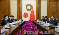 日中同意将于下月举行两国峰会