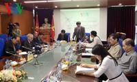 本台副台长武海会见阿根廷和古巴驻越大使馆代表团