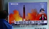 韩国军方谴责朝鲜发射导弹行为