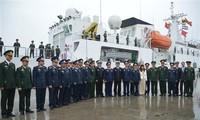 中国海警船访问海防市