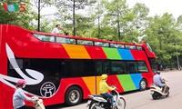 Hà Nội sắp có xe bus hai tầng mui trần phục vụ du lịch
