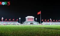 Không khí đêm giao thừa tại Hà Nội
