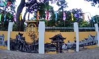 Nét đẹp văn hóa Hà Nội trên những bức tường trường Phan Đình Phùng