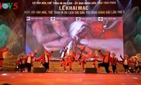 Toàn cảnh lễ khai mạc Ngày hội Văn hoá, Thể thao và Du lịch các dân tộc vùng Đông Bắc