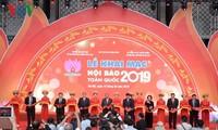 Thủ tướng đánh trống khai mạc Hội Báo toàn quốc 2019 tại Hà Nội