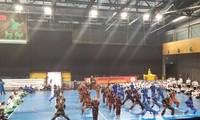 Đại hội võ thuật cổ truyền Việt Nam toàn thế giới khai mạc