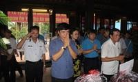 Cérémonie d'hommage à Nguyen Duc Canh à Hai Phong
