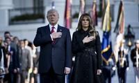 Donald Trump participe à sa première cérémonie du 11 septembre