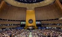 Trump, Macron et Guterres assistent à leur première Assemblée générale de l'ONU à New York