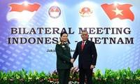 Le Vietnam et l'Indonésie renforcent leur coopération dans la défense