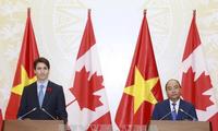 Entretien Nguyen Xuan Phuc - Justin Trudeau