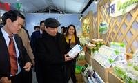 Le PM visite l'espace culturel et touristique de Hà Giang