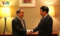 Pham Binh Minh en visite en République de Corée