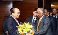 Nguyen Xuan Phuc rencontre des chefs d'entreprises indiennes