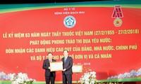 Célébrations de la 63ème journée des médecins vietnamiens