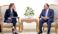 Le Premier ministre reçoit la ministre danoise de la Santé