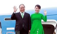 Nguyên Xuân Phuc entame sa visite à Singapour