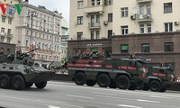 Répétition générale du défilé pour le Jour de la Victoire 2018 en Russie