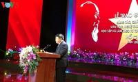 Remise des prix du concours «Etudier et suivre l'exemple moral du Président Hô Chi Minh»