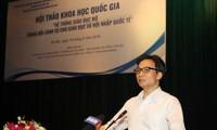 Le vice-Premier ministre Vu Duc Dam plaide pour une éducation ouverte