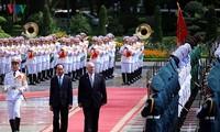 Entretien entre le président vietnamien et le gouverneur général d'Australie